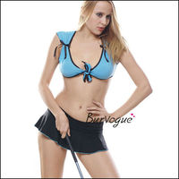 Guangzhou lingerie factory wholesale women sexy costumes trainer costume for women wholesale