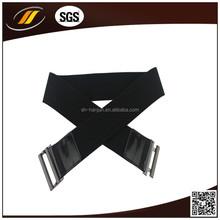 Summer Hot European Style Mini Wrap Dress with Elastic Belt