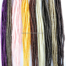 Synthetic hair and Hair Weaving Hair Extension Type synthetic dreadlocks