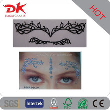 Fashionable Japan high qulity makeup Smoky Eyebrow tattoo sticker