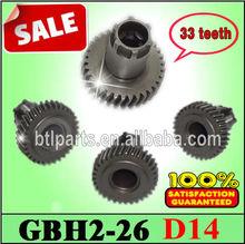 Vitesse directe usine Bosch GBH2-22 / GBH2-24 / GBH2-26 / GBH2-28 engrenages pour Bosch GBH2-26 complète marteau pièces de rechange
