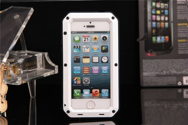 hot selling aluminum waterproof case for iPhone 5s