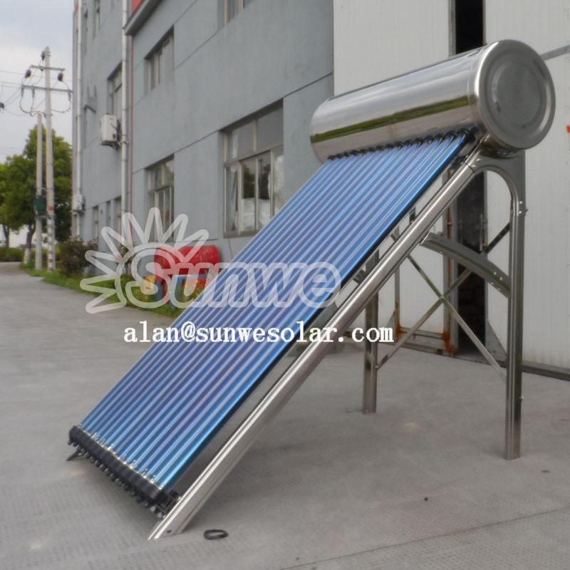 En acier inoxydable chauffe eau solaire sous pression pt for Chauffe eau solaire sous vide