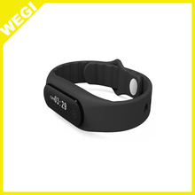 2015 New gift Smart Bracelet Bluetooth 4.0 Waterproof Touch Screen Fitness Tracker Health Wristband Sleep Monitor Smart gift