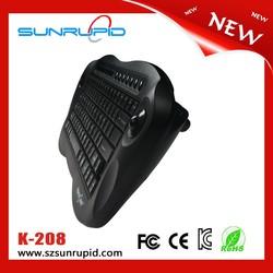 Wireless mini keyboard with trackball mouse multimedia keys Nano receiver
