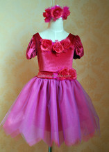 2015 new coming girls cosplay costome party dress, girls fancy tutu dress with butterfly wings