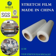 Colorful Standard Hand Type Stretch Film 17 Mic with 150% Pre-stretching