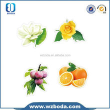 animal shape fruit smell customized paper air freshener