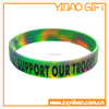 Sports Theme mix-color silicone rubber bracelet/High quality silicone wrist band/Promotional silicone wristband