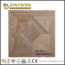 Engineered Parquet Tile Wood Flooring