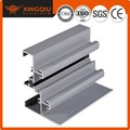 Alta calidad de aluminio extruido de aluminio del carril