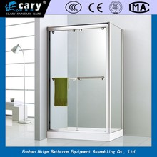 MODEL- ec2209 comfortable square stainless steel glass simple shower cabins