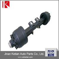 germany type semi trailer axle(10 hole axle,trailer axle,Germany axle)/trailer independent axles