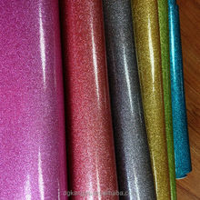 Metal Foild pu leather for bag, pu glitter leather