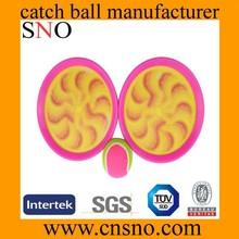Sky velcro catch ball play set with 2pcs balls