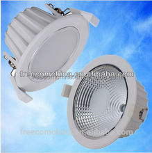 15w aluminum led down light fixture parts with OEM service
