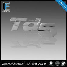 3D ABS chrome sticker emblem plastic car decal letters