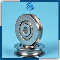 U groove stainless steel wheel sliding gate wheel