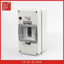 Low price FSCBN series panel box IP66 1gang/2gang/3gang/4P/4gang/6gang/8gang surface mount enclosure