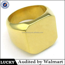 Simple design jewelry stainless steel ring blanks