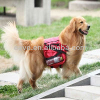 G033 Pet from Backpack Golden Retriever Large Dog Bag Red Self Send Water Bowl Factory Drop Shipping Wholesale