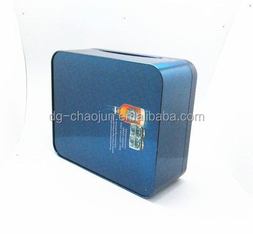 Skillful design functional luxurious handle large champagne glass gift box