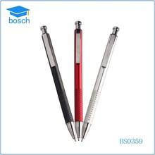 Best sale ballpoint pen click metal ball pen promotional color pen