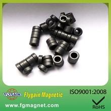 small ring flow meter Y30 ferrite magnet