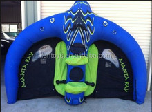 inflatable manta ray adventure