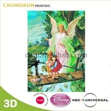 Personalized 3D Picture Of Angels, Jesus Christ, Virgin Mary