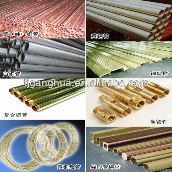 Copper pipe cheap price buy copper pipe copper pipe for Copper pipes price