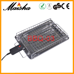 CE portable stainless steel best indoor electric barbecue grills