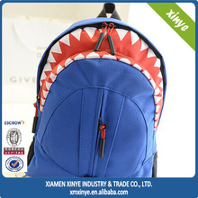 Nice Personal High School Pupils Backpack Shark Bag