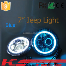 truck fog light car decoration accessories led fog light for jeep wrangler 7inch led headlights