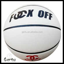 size 3 promotional white rubber basketball
