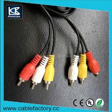 Wholesale bare copper audio video cable hfl audio cable
