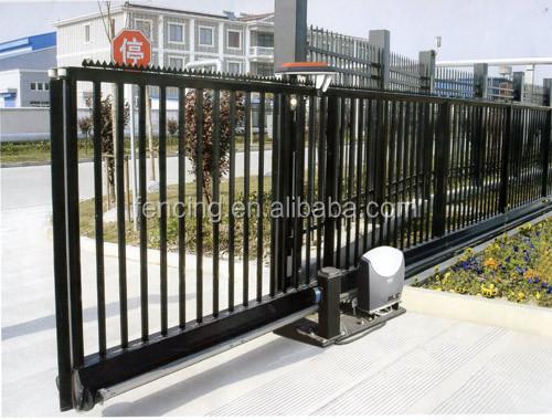 Galvanized wrought iron sliding gate design buy