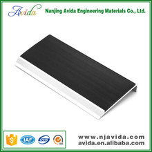 Vinyl tile rubber stair tread covers for stairs
