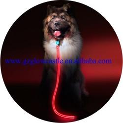 Latest Red LED Large Dog Leashes