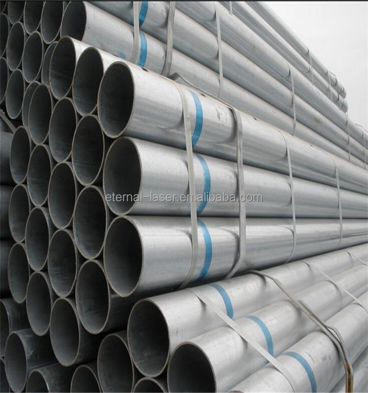 1.5 polegada 2 polegada 2.5 polegada de 3 polegadas tubo galvanizado