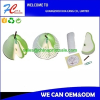 2015die cut shaped sticky note set for school and office high quality