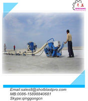 floor stripper Shot Blasting Machine China supplier/ factory(with Omron m2)
