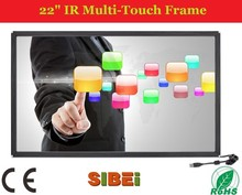 """Low Price 22"""" IR multi Touch Frame / panel for Interactive advertising LED TV"""