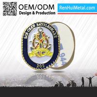 Top sale 2D/3D custom custom metal cap badge