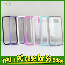 New Products For Samsung Galaxy S6 Cover TPU + PC Case