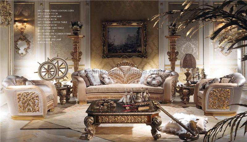 Italie nouveau design ornement laiton mont salon meuble - Meuble tv style baroque ...