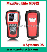 Hihg quality Autel Maxidiag Elite MD802 auto code reader for all system