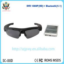 2015 Hot HD1080P HD DVR Camera & bluetooth 4.1 sunglasses stereo headset /sport DV