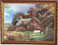 decoration wall scenery painting