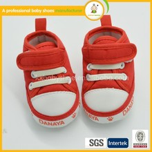 red and blue baby sport shoes easy ware soft sole toddler shoes